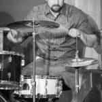 Drummer Jan beim Bandabend