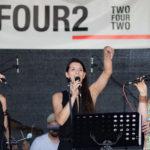 Women vocalpower live on stage