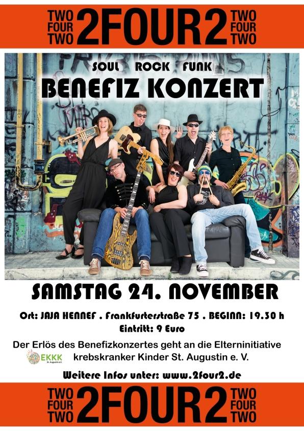 2Four2-Plakat klein